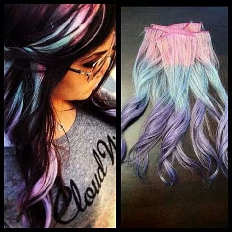 Best 25 Unicorn Hair Ideas On Pinterest Colourful Hair