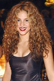 Celebrity with Curly Hair