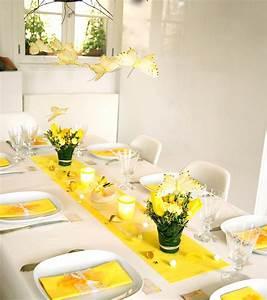 Ma Boutique Dco Table Dcoration De Table Jaune