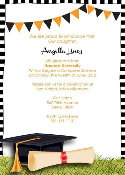 FREE Graduation Party Invitation graduation party