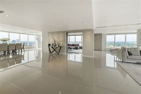 tiled floor ideas luxury penthouse apartment