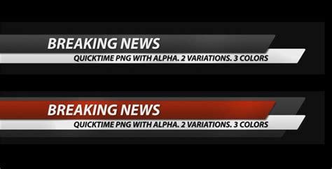 breaking news template breaking news corporate lower third pack 7 in 1 by socreative videohive