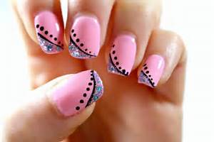 Easy nail art designs step by for beginners home