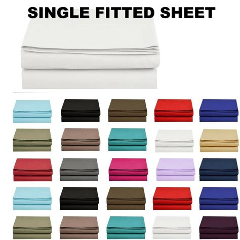 1500 thread count single fitted sheet top sheet available