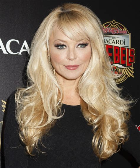 charlotte ross formal long straight hairstyle