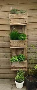 Comment Remplir Une Grande Jardinière : le mur v g tal en palette id es originales pour un jardin vertical r cup ~ Melissatoandfro.com Idées de Décoration