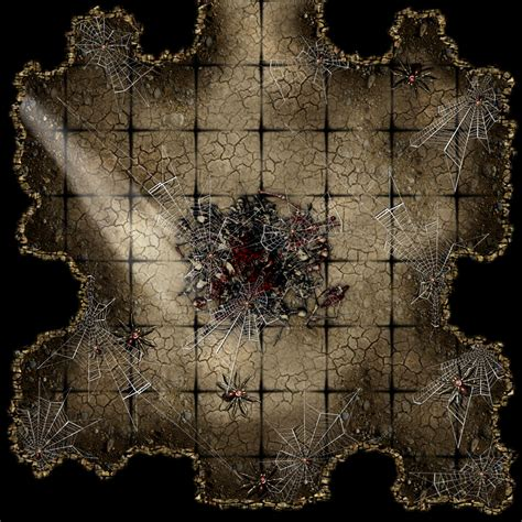 Dungeons And Dragons Tiles Printable by Free Dungeon Tiles To Print L Antre D Arachn 233 E