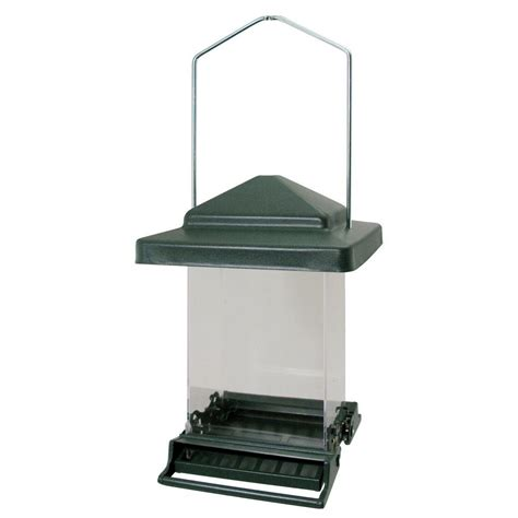 squirrel proof bird feeder home depot heritage farms vista bird feeder 75160 the home depot