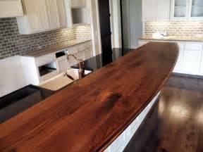 kitchen island with bar top walnut custom wood countertops butcher block countertops kitchen island counter tops