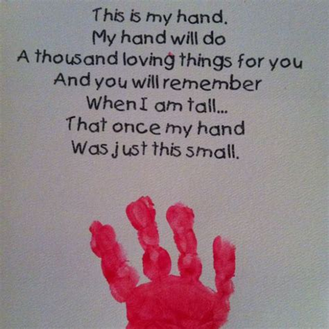 handprint poem and footprint 575 | a8cfeed338f415be5f8aa6a821c7334c