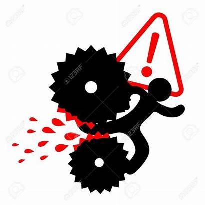 Machine Clipart Danger Accident Injury Report Alarm