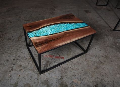 It's a simple enough project with a few tricky moments, but, with a little workworking skill, you can build one for yourself. Walnut Epoxy River Coffee Table - Anglewood Live Edge Custom Furniture, Toronto