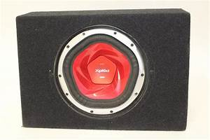 Sony Xplod 1200w Subwoofer In QLogic Box | Property Room