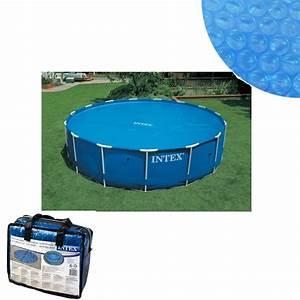 Grande Piscine Pas Cher : bache a bulles pour piscine ronde diametre 5m49 intex pas ~ Dailycaller-alerts.com Idées de Décoration