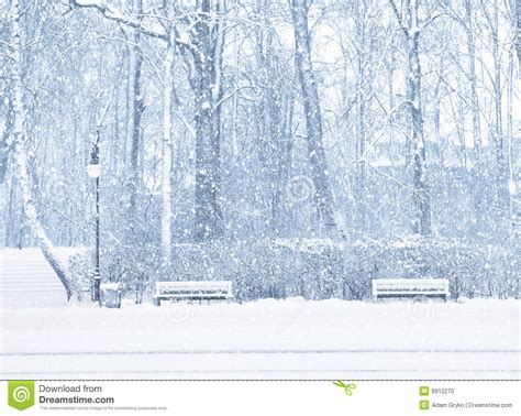 snowing stock photo image
