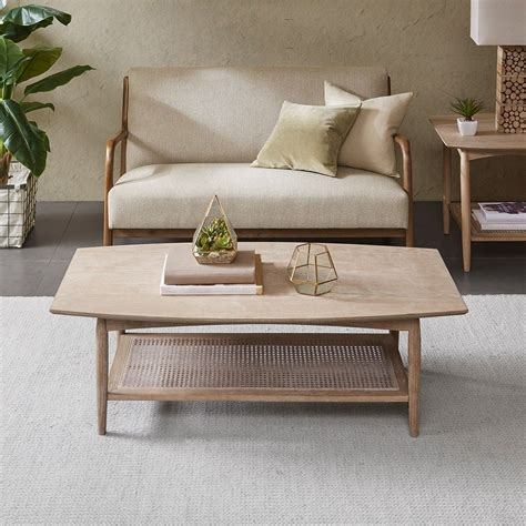 However, as time passes it became easier to construct these tables and so they were sold at good prices that have been cost effective for most. New Kelly Coffee Table Solid Wood, Farmhouse, Mid-Century Modern Brown INK+IVY