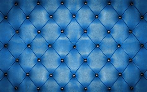 black upholstered blue leather texture background wallpaper