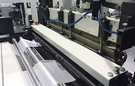 jumbo tensionless thick gauge bottom seal bag making machine  gripper folding system plas