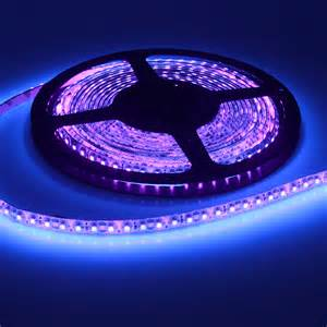 waterproof 5m 12v 3528 smd uv ultraviolet 395nm 600 led