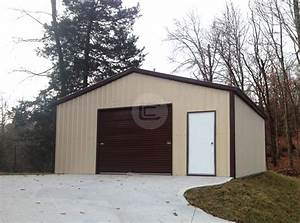 the great debate custom metal garages vs traditional With custom built metal buildings