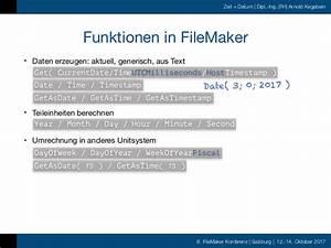 Schaltjahr Berechnen : fmk2017 zeit und datum in filemaker by arnold kegebein ~ Themetempest.com Abrechnung