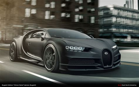 """Only 20 units will be made and each package will cost an extra €100. Bugatti Edition """"Chiron Noire"""" - Audi Club North America"""