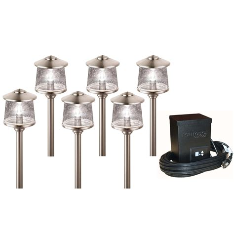 low voltage outdoor lighting kits home depot