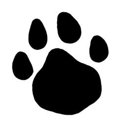 cat paw print images paw prints clipart