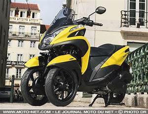 Scooter 3 Roues 125 : 3 roues le scooter 3 roues yamaha tricity 125 volue en profondeur pour 2017 sudmoto ~ Medecine-chirurgie-esthetiques.com Avis de Voitures