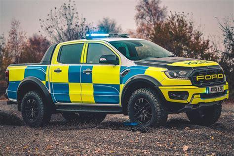 Ford Ranger Raptor Makes For A Monstrous Police Truck