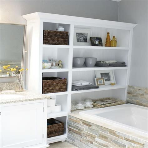 Storage Ideas For Small Bathrooms With No Cabinets by Maximize Your Small Storage Bathroom With This