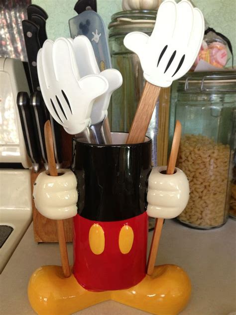 mickey mouse kitchen caddy  matches brilliantly   canister set