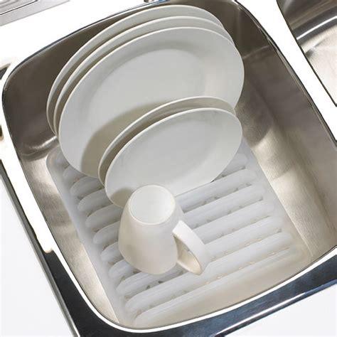 in sink dish drying rack in sink plastic dish rack white in dish racks
