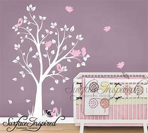 Nursery wall decals for baby girl