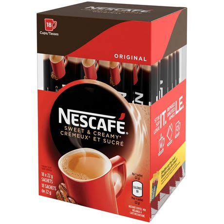 If you want the taste to be more ic. NESCAFÉ Sweet & Creamy Original, Instant Coffee Sachets | Walmart Canada