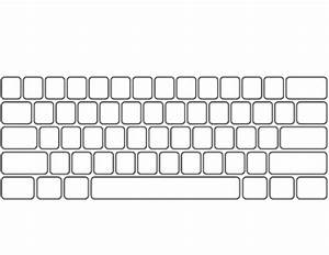 computer keyboard and keypad blank by ginger39s dollar With blank keyboard template printable
