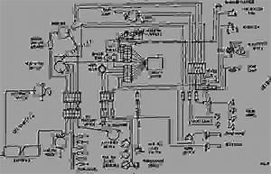 Wiring Diagram - Engine - Machine Caterpillar 3406