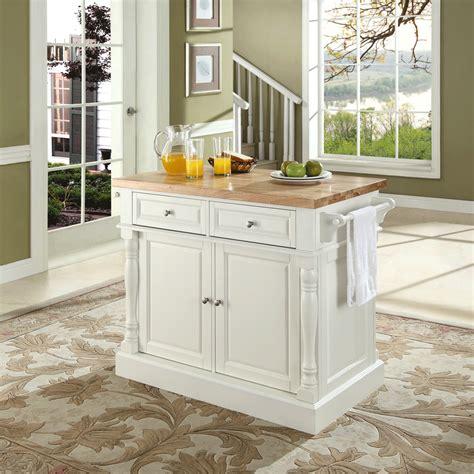 kitchen cart with butcher block butcher block top kitchen island in white finish modern
