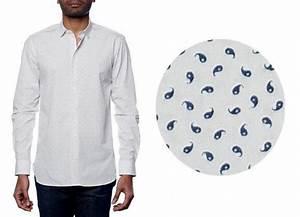 Chemise Homme Motif Original : chemise homme motif cachemire ~ Nature-et-papiers.com Idées de Décoration