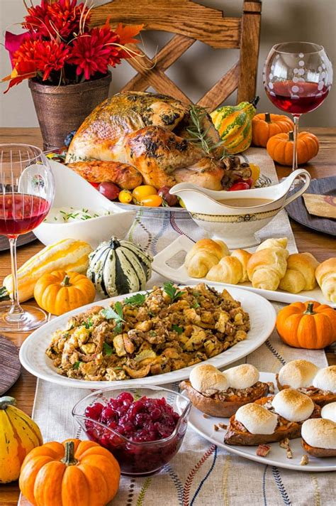 Kitchen Kabaret Thanksgiving Menu by 2017 Thanksgiving Menu And Prep Guide For Stress Free