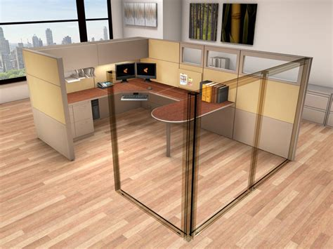 Office Systems Furniture 8x12 Cubicle Workstations