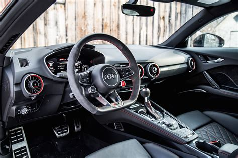 audi tt interior review 2018 audi tt rs canadian auto review