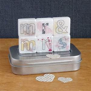 mr and mrs decorative letter tiles by littlebirdydesigns With decorative letter tiles