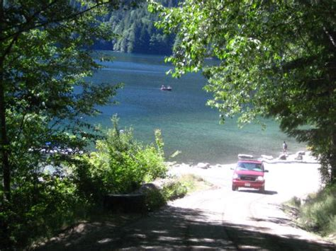 Chilliwack Lake Boat Launch by Chilliwack Lake From The Boat Launch Picture Of