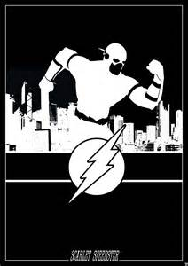 The Flash DC Comics Silhouettes