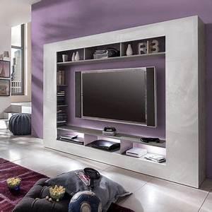 Tv Wand Weiß Hochglanz : die besten 17 ideen zu tv wand auf pinterest tv wand schwarz tv an wand und tv wand rot ~ Indierocktalk.com Haus und Dekorationen