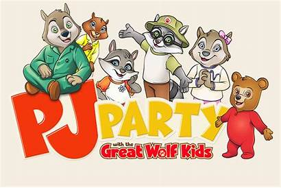Wolf Lodge Clipart Wiley Party Activities Pj