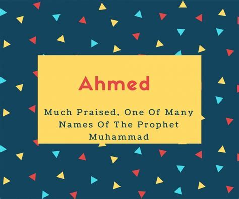 What is Ahmed Name Meaning In Urdu   Ahmed Meaning is ???