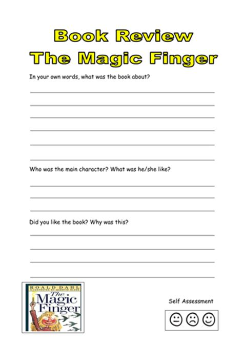 magic finger book review  kayld teaching resources