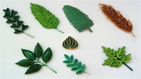 quilling basic shapes leaves   types paper